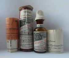 EMPTY Bottle Chloroform Medicine anesthesia Pharmacy Apothecary poison German !
