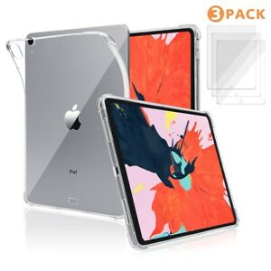 Crystal-Clear-Shockproof-Cover-Case-for-iPad-9-7-034-Pro-11-034-12-9-034-Screen-Protector