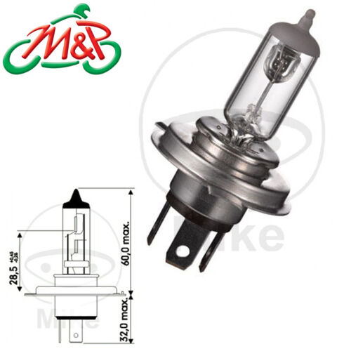 Yamaha YN 50 F 4T Neos 2010 Headlight Replacement Bulb