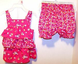 2pc NWT PARK BENCH KIDS Girls Sleeveless Outfit