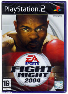 PS2-EA-Sports-Fight-Night-2004-Royaume-Uni-PAL-NEW-amp-Sony-FACTORY-SEALED