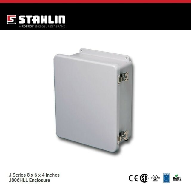 Hubbell Stahlin Enclosure 10 H x 4 D x 8 W