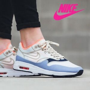 Details about Women's Nike Air Max 1 Ultra 2.0 SI Sail Light Purple Blue Pink 881103 102 Sz 7