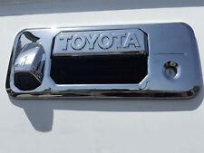 2014-17 Toyota Tundra Chrome ABS Tailgate Handle Cover w/ Keyhole & Camera9