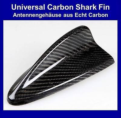 UNIVERSAL Shark finn Haifischflosse Dummy Antenne im BMW Style – ECHT CARBON