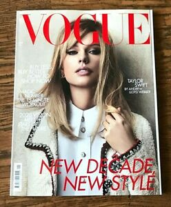 Brand New British Vogue Uk Magazine January 2020 Taylor Swift Ebay
