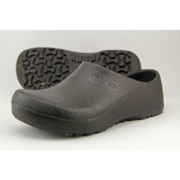 004d1749947cc Birkenstock Unisex Work Shoes Slip Resistant Profi Birki Black Clog L8 / M6  for sale online | eBay