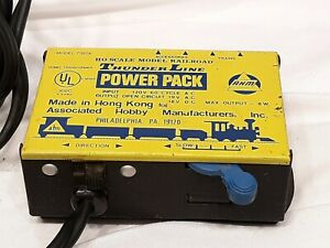 AHM-Thunder-Line-Ho-Scale-Railroad-Power-Pack-Transformer-Model-70206-tested