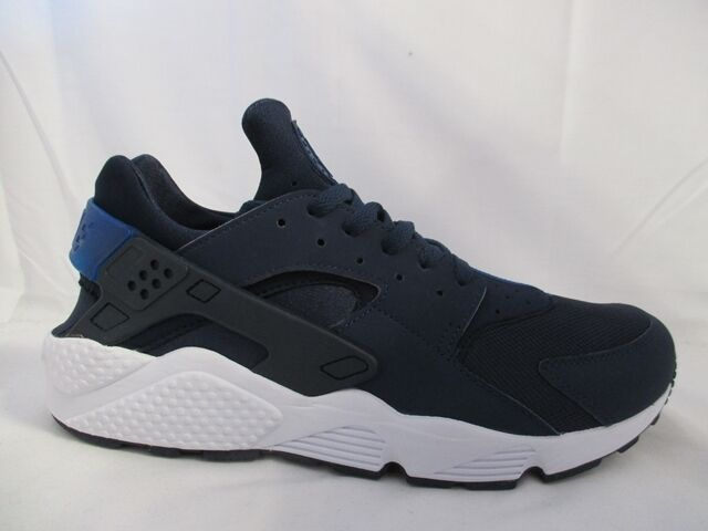 Mens Nike Air Huarache Navy Navy White 318429 444 Sizes  _13