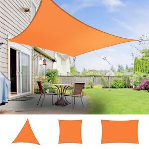 Sonnensegel Quadratisch Sonnenschutz Sichtschutz Beschattung Windschutz Garten