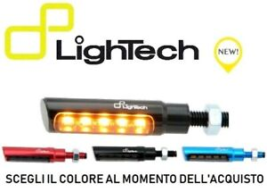 LIGHTECH-COPPIA-INDICATORI-FRECCE-LED-ROSSO-NERO-BLU-FRE930NER-OMOLOGATE-MOTO