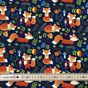 Sweets Candy Toffee Chocolates Polycotton Fabric Sold Per Metre 114cm wide