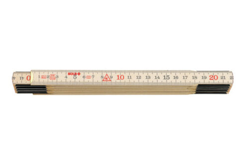 Sola mètre gliedermassstab meterstab h2//10 nordique Birkenholz nature