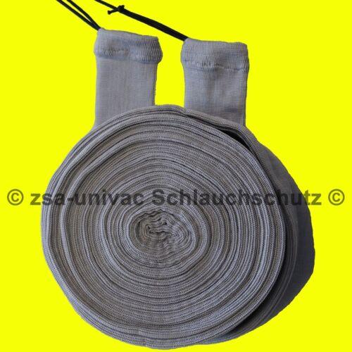 9 m Silbergrau Schlauchschutz Stretchmat Möbelschoner VACSOC ZENTRALSTAUBSAUGER
