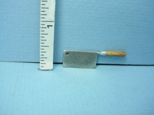 Miniature Kitchen Meat Cleaver Handcrafted #691 Sir Thomas Thumb 1//12th