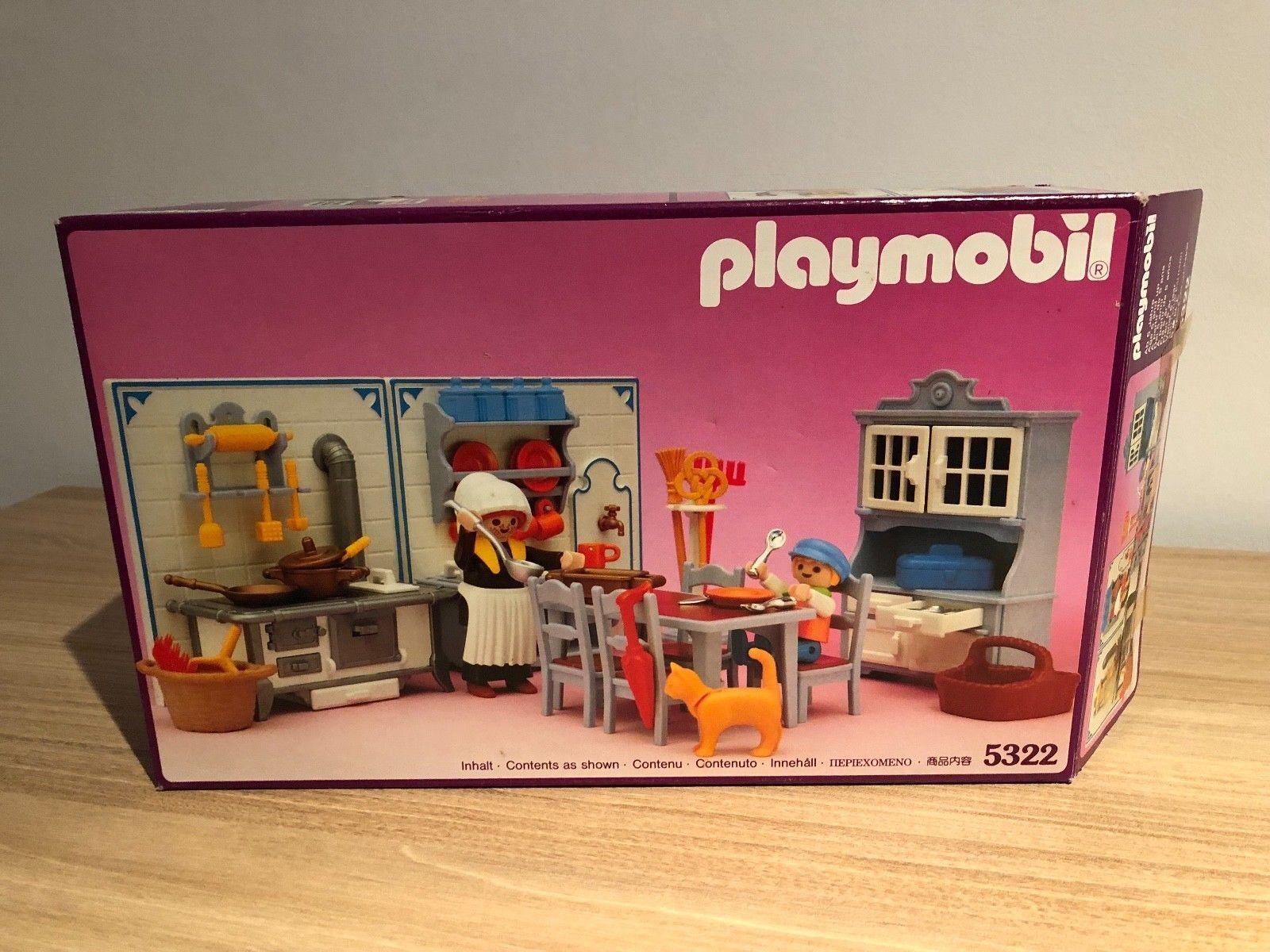 Playmobil 5322 5300 dollhouse kitchen puppenhaus ovp (3)