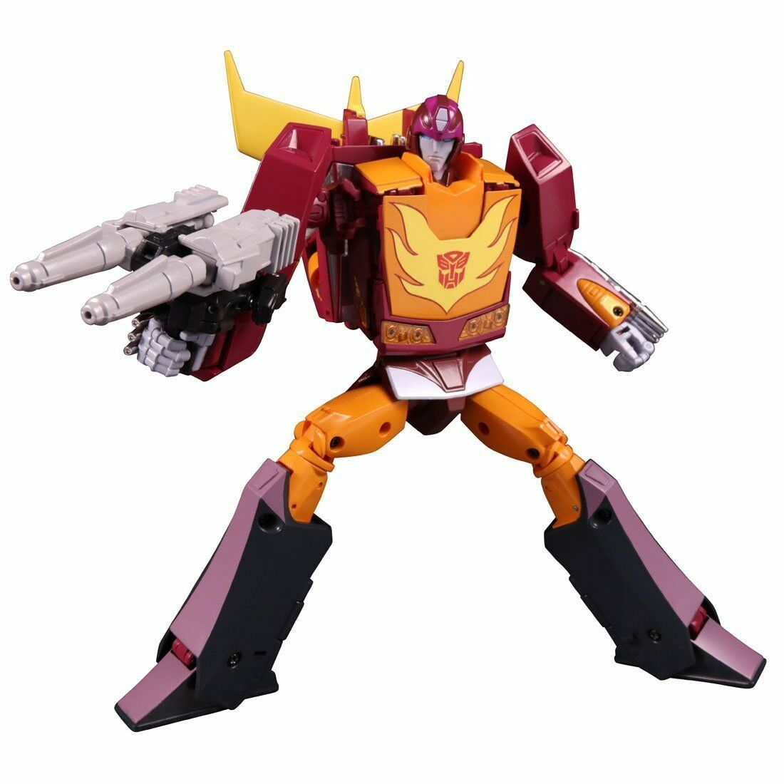 Transformers Masterpiece MP-40 objetivo Master Hot Rodimus Figura De Acción