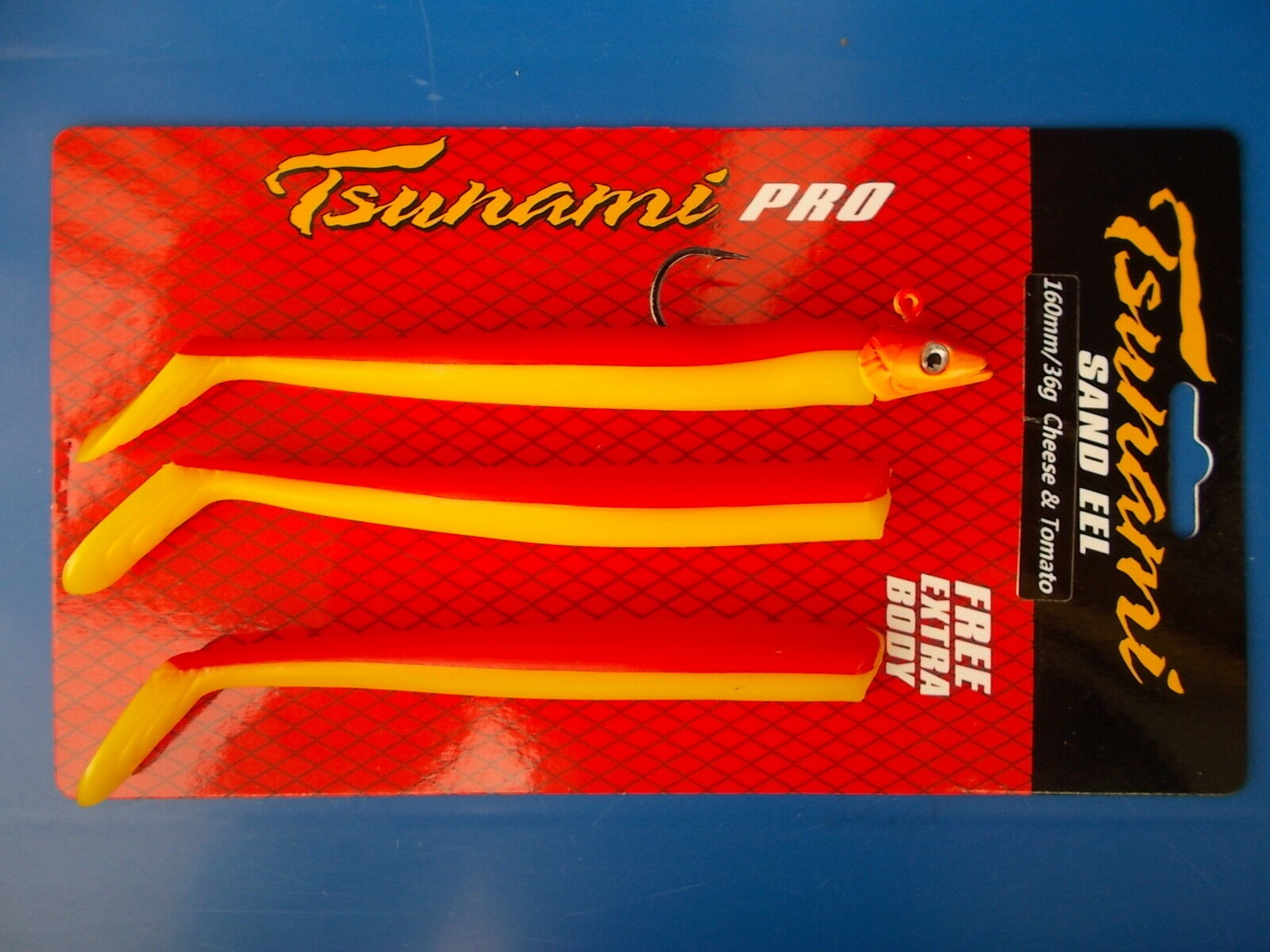 Tsunami Pro sand eel FISHING LURE 160mm/36g (FROMAGE tomate) & tomate) (FROMAGE c3439b