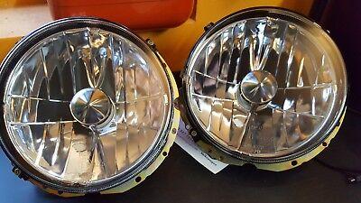 VW MAGGIOLINO MAGGIOLONE T2 BEETLE HELLA H4 FARO ANTERIORE HEADLIGHT PHARE