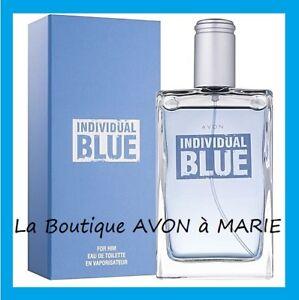 Individual Blue Eau De Toilette For Man In Vapo 338 Floz Avon New
