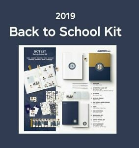 2019-NCT-127-Jaehyun-Ver-Back-To-School-KIT-Full-Package