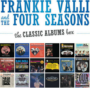 The-Four-Seasons-Frankie-Valli-amp-Four-Seasons-Classic-Albums-Box-New-CD-Box