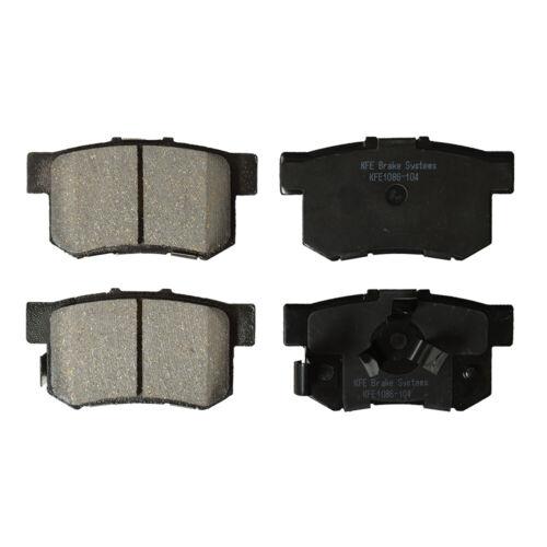 Premium Ceramic Disc Brake Pad REAR Set Fits Honda CR-V CRV Acura RDX KFE1086