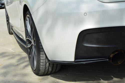 Latérales arrière Splitters BMW MK1 F20 M-Power préface 2011-2015