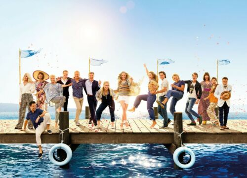 Mamma Mia Here We Go Again Poster 3 • A4 /& A3 • Birthday • Stocking Filler