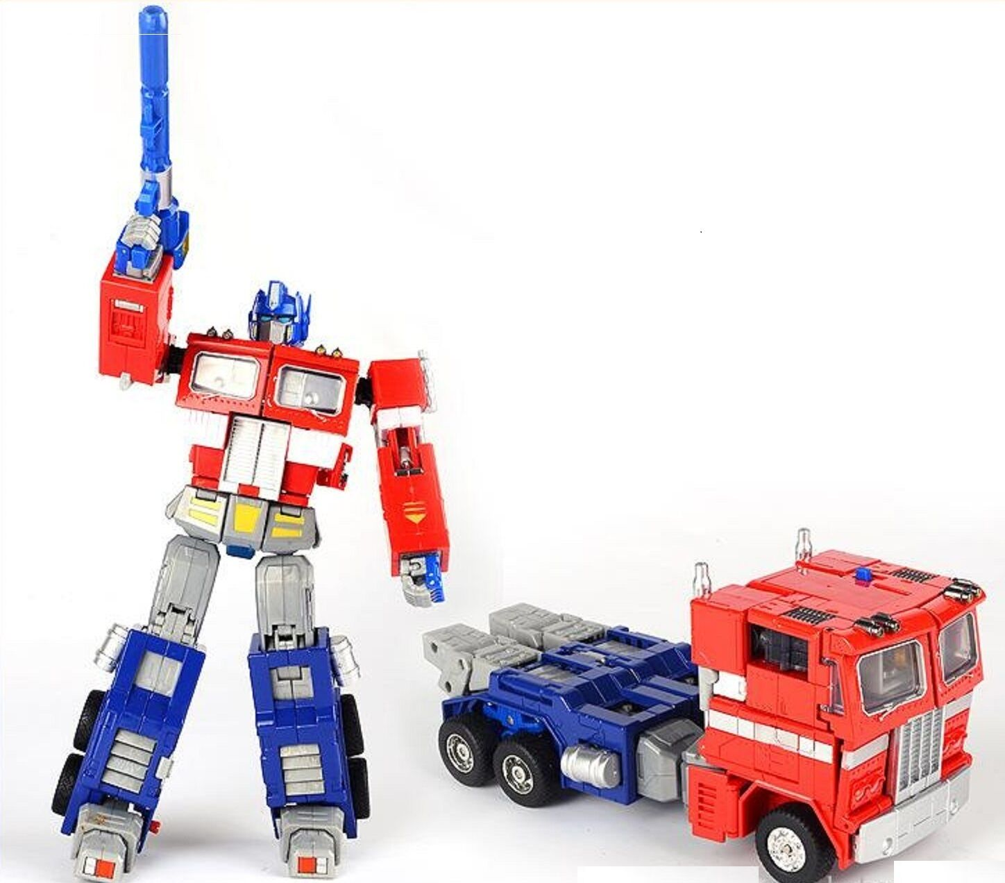 Transformers Optimus Prime Metal MP01 Master Piece With Trailer Ages 5+ New Toy