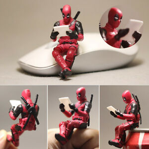 Deadpool-X-men-Sitting-Mini-Figurine-Statue-7m-No-Box