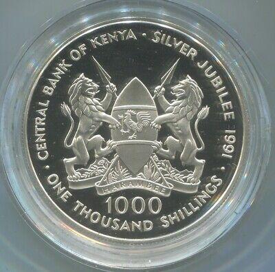 Kenya Silver Jubilee Commemorative Coin 1991
