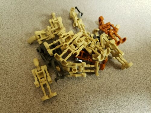 Authentic Used LEGO Star Wars Battle Droid Super Battle Droid Mixed Lot of 15!