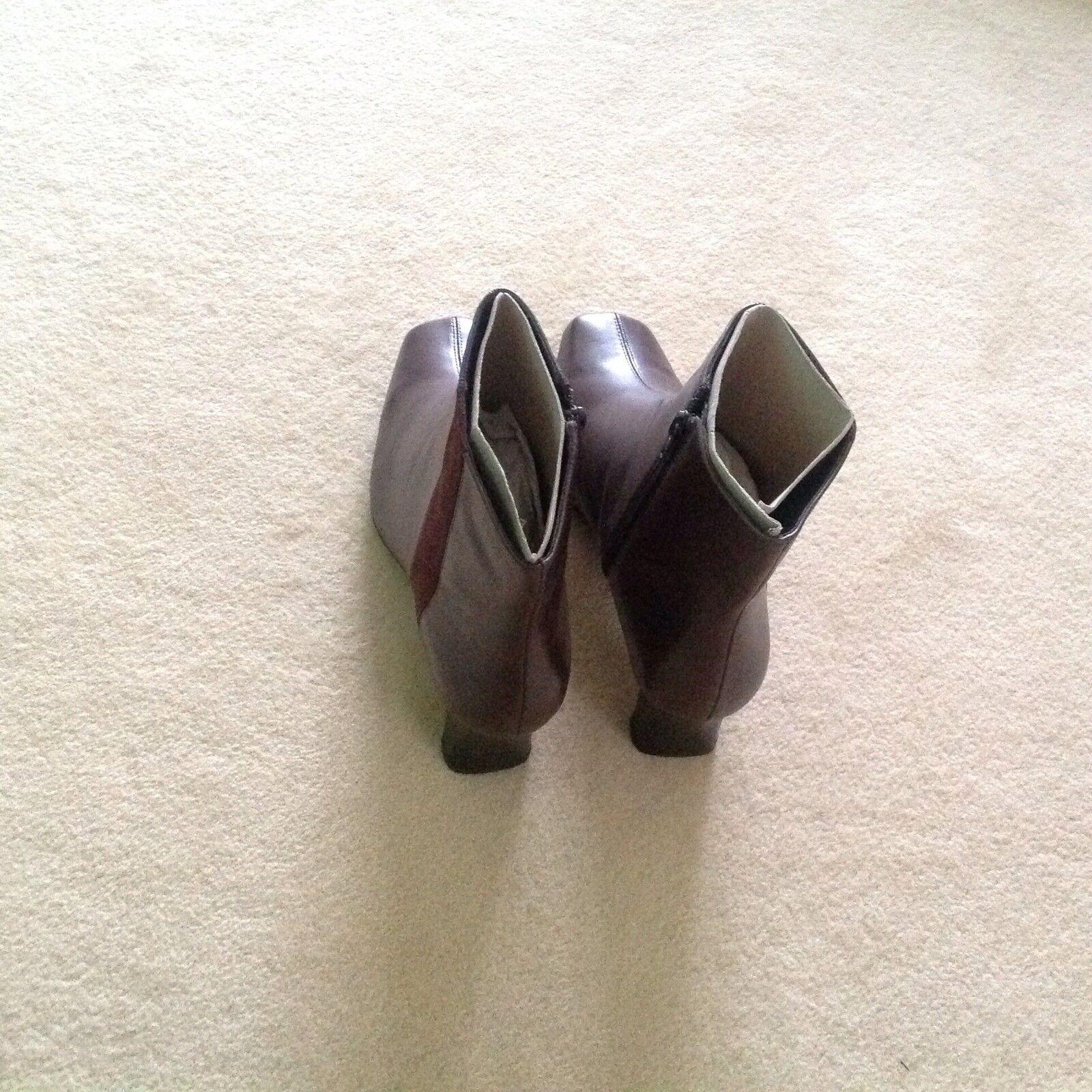Clarks Braun Leder Stiefel.New Stiefel.New Leder Größe 6UK e78f03