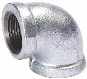 Image is loading NEW-B-&-K-3-INCH-GALVANIZED-PIPE-  sc 1 st  eBay & NEW Bu0026K 3 INCH GALVANIZED PIPE THREADED 90° ELBOW FITTING PLUMBING ...