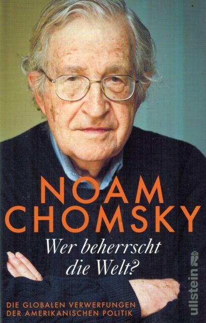 BUCH - Wer beherrscht dier Welt von Noam Chomsky