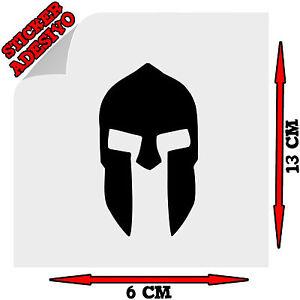 Sticker-Adesivo-Decal-Elmo-Spartano-Spartan-Helmet-300-Sparta-Tuning-Auto-Moto