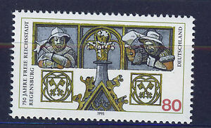 ALEMANIA-RFA-WEST-GERMANY-1995-MNH-SC-1888-Regensburg