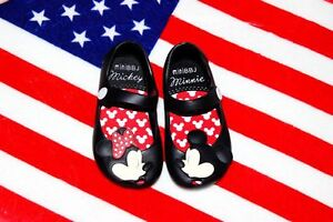 Melissa-Cartoon-Mickey-Minnie-mouse-Sandals-Jelly-Shoes-Kids-Girl-Toddler-Gift