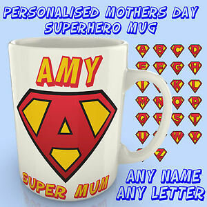Personalised-Superhero-Mug-Mothers-day-Home-Gift-Mum