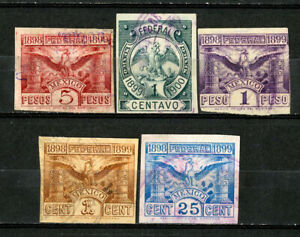 Mexico-Stamps-1899-Revenue