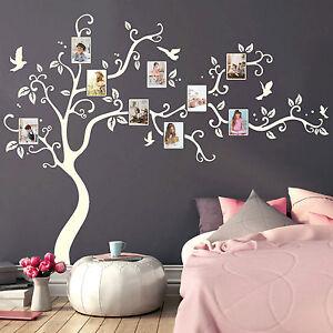 wandtattoo baum bilderrahmen 11150 fotos bl tter v gel. Black Bedroom Furniture Sets. Home Design Ideas