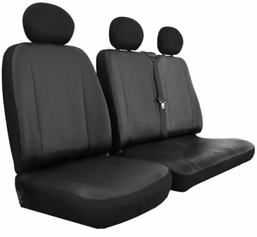 CITROEN DISPATCH Heavy Duty MAYFAIR LEATHER LOOK Van Seat Covers Single /& Double