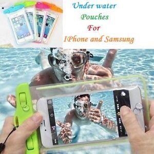 Sous-L-039-Eau-IPX8-Certifie-Impermeable-Etanche-Etui-Pochette-pour-Iphone-amp-Samsung