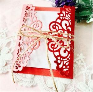 Stanzschablone Spitze Blume Hochzeit Weihnachten Geburtstag Oster Karte Album