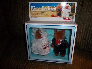 Baren-Hochzeit-Simba-Bear-Wedding-Bride-And-Groom-Dolls-1991