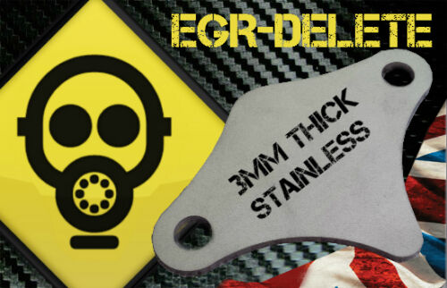 2.5 BHP MPG EGR blanking plate VAUXHALL TIGRA 1.8 ZAFIRA 1.4 1.6 2.0 2.2