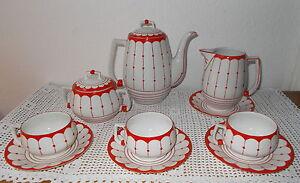 Traumhaftes-Set-Boehmisches-Porzellan-Kaffee-Set-Johann-Schuldes-Giesshuebel
