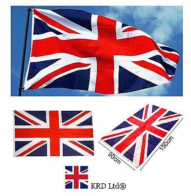 LARGE 5ft X 3ft 5/'x3/' UNION JACK BRITISH UK NATIONAL FLAG OLYMPIC SPORT JUBILEE