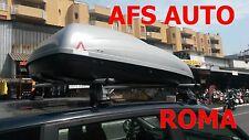 BOX AUTO PORTAPACCHI BAULE G3 KRONO 400+BARRE ALLUMINIO FIAT MULTIPLA ANNO 2007